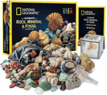 Научный STEM набор Камни, минералы и окаменелости от NATIONAL GEOGRAPHIC