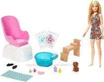 Кукла Барби набор Салон маникюр и педикюр Barbie Mani-Pedi Spa