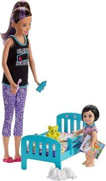 Скиппер няня Спокойной ночи Barbie Skipper Babysitters Inc. Bedtime Playset