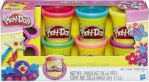 Плей-До набор пластилина 6 цветов Блестящая коллекция Play-Doh Hasbro