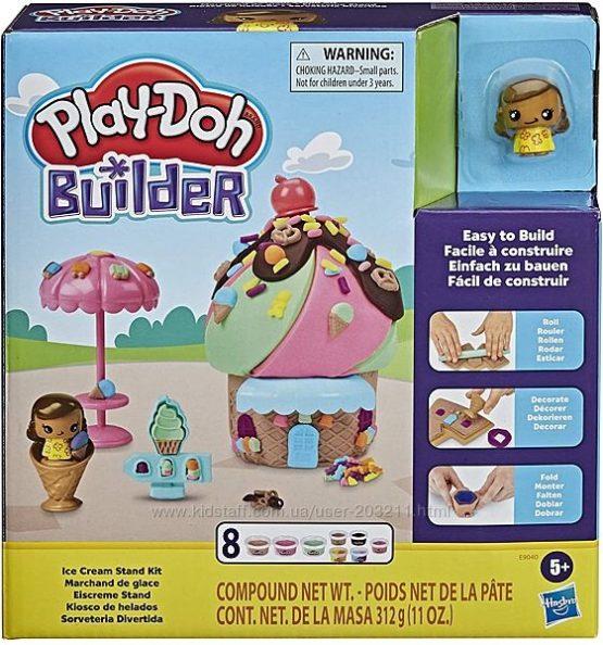 Лавка Play-Doh Builder Ice Cream Stand Стенд с мороженным