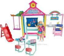 Набор Барби Челси и школа Barbie Club Chelsea Doll and School Playset