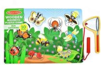 Магнитный пазл Сачок Bug-Catching Magnetic Puzzle Game, Melissa&Doug