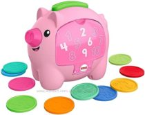 Свинка Копилка Fisher-Price Laugh & Learn Count & Rumble Piggy Bank