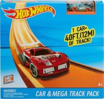 Трек Хот Вилс Мега длинная дорога Hot Wheels Car & Mega Track Pack