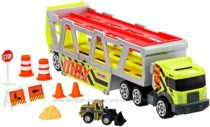 Набор трейлер-автовоз с трактором Matchbox MBX Construction Hauler