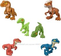 Динозавры-малыши Fisher-Price Imaginext Jurassic World Hatchlings.