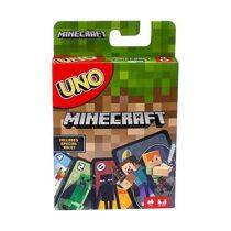 Настольная игра Уно Майнкрафт Mattel Games UNO Minecraft