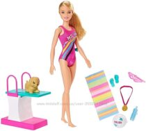 Кукла Барби Чемпион по плаванию Barbie Dreamhouse Adventures Swim &acuten Dive