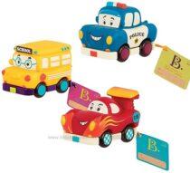 Игровой набор Battat Забавный автопарк B. toys by Battat – Mini Pull-Back V