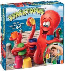 Настольная игра щупальца осьминога  PlayMonster Stacktopus.