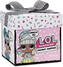 Кукла Лол Подарок L. O. L. Surprise Present Surprise Doll with 8 Surprises