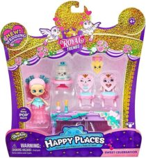 Shopkins Happy Places Happy Scene Pack Sweet Celebration Сладкое празднован