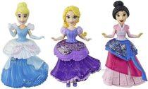 Набор принцесс с платьями клипс 3 штуки Disney Princess Royal Clips
