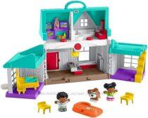 Музыкальный дом Фишер Прайс Fisher-Price Little People Big Helpers Home blu