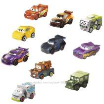 Набор мини автомобилей Тачки Mattel Disney Pixar Cars Mini Racers Vehicle
