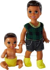 Две куколки Barbie Skipper Babysitters Inc. Dolls, мальчики