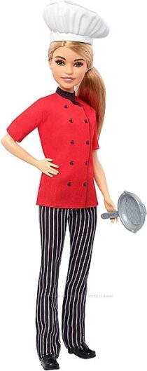 Кукла Barbie Барби Шеф повар Я могу быть FXN99 Careers Chef Doll