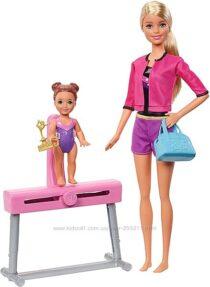 Барби Тренер по спортивной гимнастике Barbie Gymnastics Coach Doll