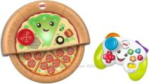 Набор из двух игрушек Fisher Price Laugh and Learn Game and Pizza Party Set