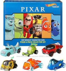 Подарочный набор Hot Wheels Character Cars Pixar and Disney, 6 Pack 164