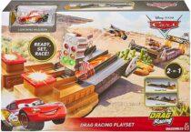 Трек Mattel Disney Pixar Cars XRS Drag Racing Playset Дисней Тачки Драг