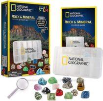 Научный STEM набор Камни и минералы 15 камней от NATIONAL GEOGRAPHIC