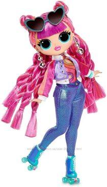 Кукла ЛОЛ ОМГ Диско Скейтер L. O. L. Surprise O. M. G. Series 3 Roller Chick F