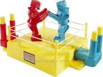 Боксерский поединок роботов. Mattel Games ROCK &acuteEM SOCK &acuteEM ROBOTS