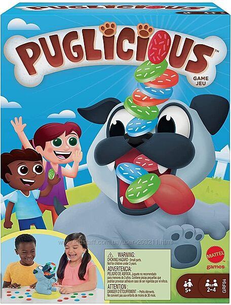 Настольная игра Mattel Games Puglicious Драчливый мопс