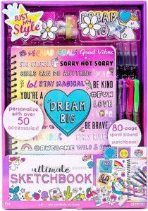Набор скетчбук Just My Style Ultimate Sketchbook by Horizon Group USA