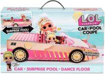 Игровой Набор ЛОЛ сюрприз Автомобиль-купе с эксклюзивной куклой, бассейном