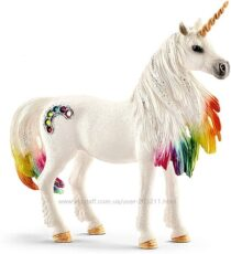 Шляйх фигурка радужный Единорог Schleich bayala Glitter Rainbow Unicorn